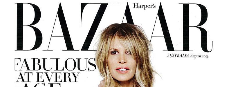 Harpers Bazaar Magazine August 2013