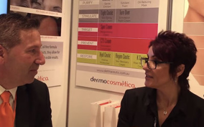 Dermocosmetica Video Interview on Retriderm & DNA Repair