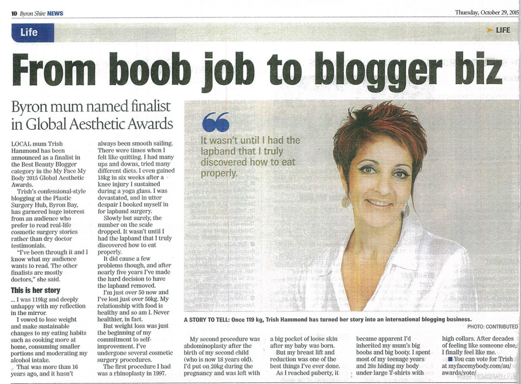 Trish Byron Shire Article