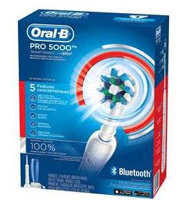 Oral B toothbrush