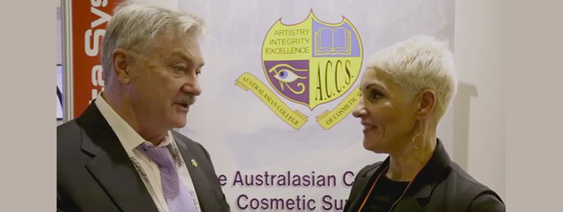 Dr John Flynn, Censor in Chief, Australian College of Cosmetic Surgery