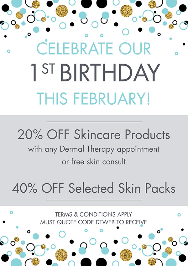 Academy Face and Body Birthday Promo