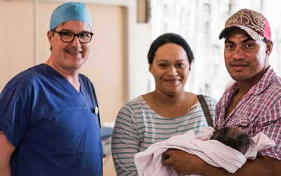 Trip to Tonga – Life-Changing Plastic Surgery with Dr Graham Sellars
