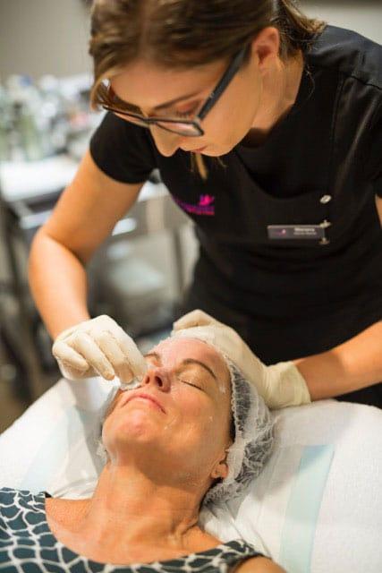 Chrysalis Medispa facial treatment