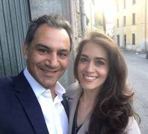 Dr Ross Farhadieh and his beautiful wife Yasamin