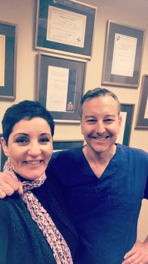 Trish and Dr Damian Marucci