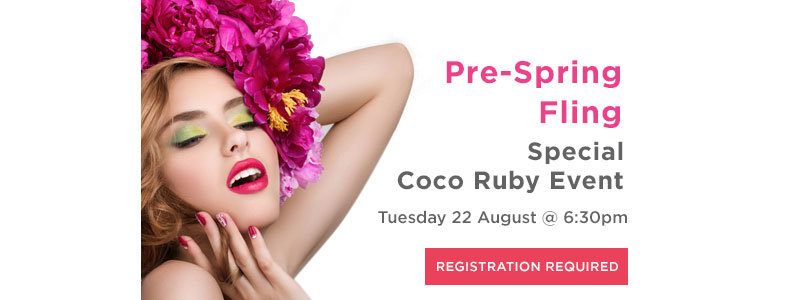 You're Invited to Coco Ruby's Pre-Spring Fling!