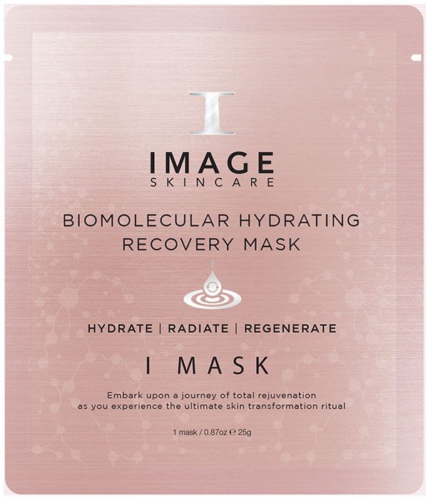 I MASK biomolecular hydrating recovery mask foil