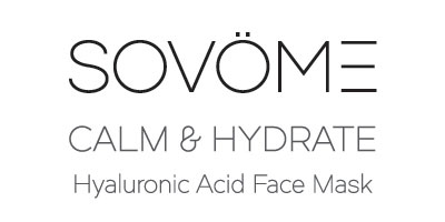 SOVOME Calm & Hydrate Hyaluronic Acid Face Mask