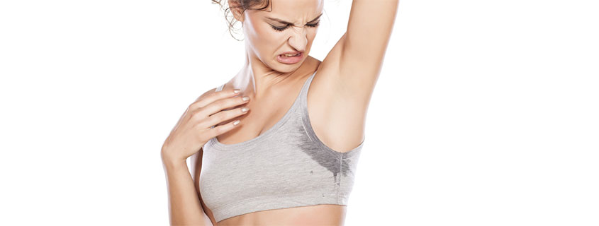 Stop Sweating It! Do you sweat too much?