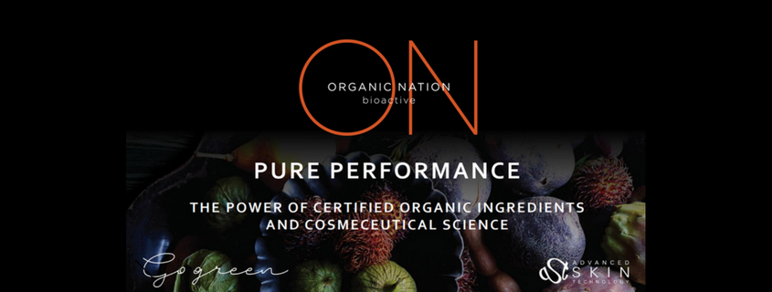 Go Green with your Skin Care with Organic Nation