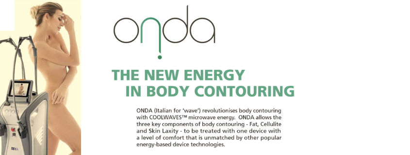 ONDA – A new body contouring device helping to treat cellulite