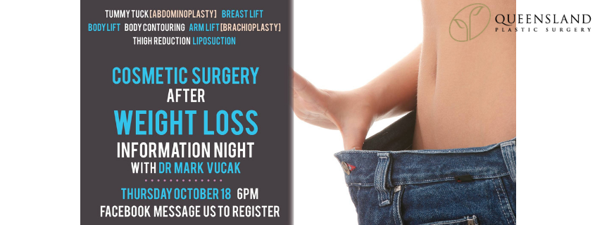 Cosmetic Surgery after Massive Weight Loss INFO NIGHT