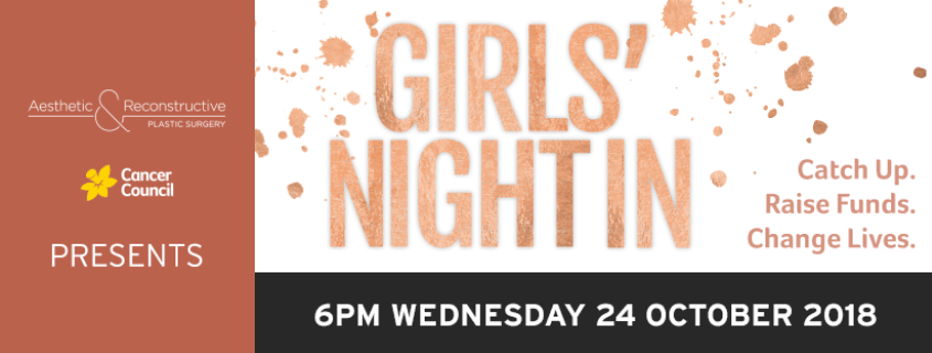 GIRL'S NIGHT IN – TONIGHT, 24 OCTOBER IN BRISBANE