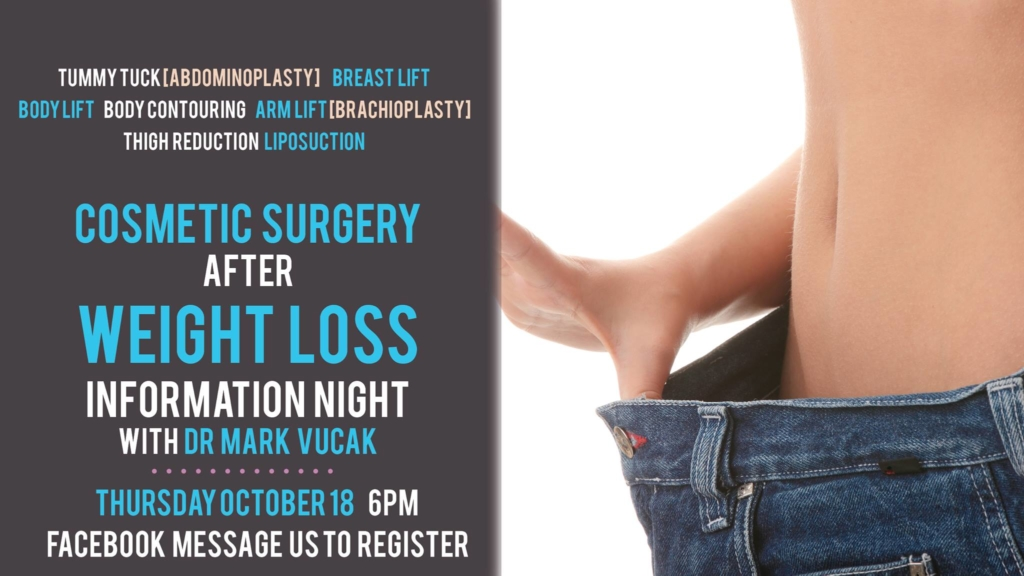 Cosmetic Surgery Information Night With Dr Mark Vucak