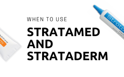 Best Scar Products – When do you use Stratamed and Strataderm?