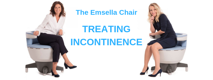 Treat incontinence, vaginal tightness and more with the Emsella