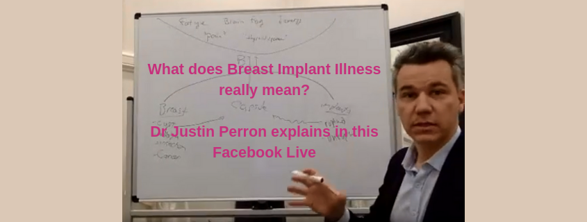 What does Breast Implant Illness really mean?