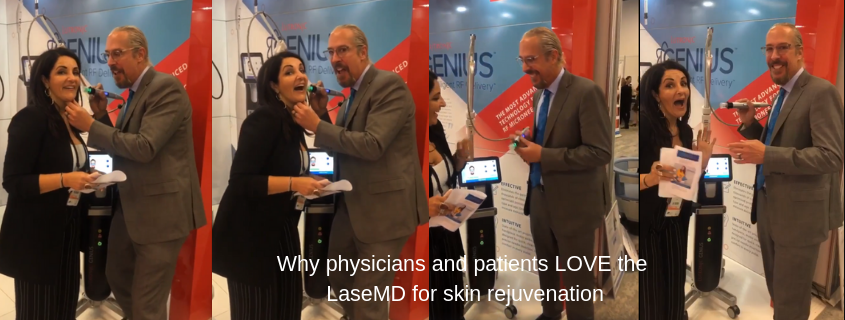 Why physicians and patients LOVE LASEMD for skin rejuvenation