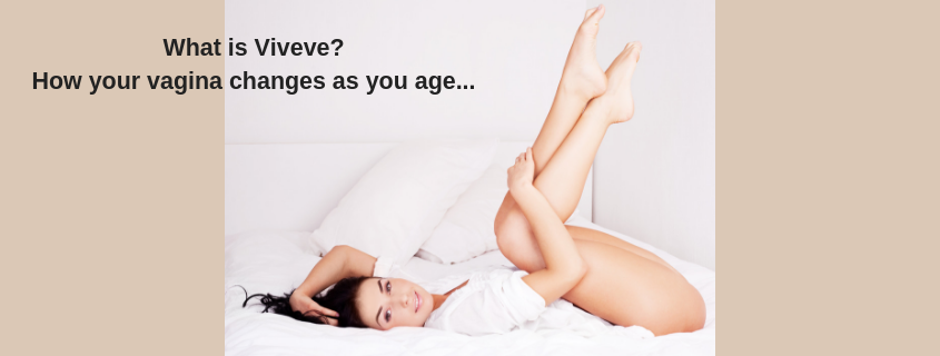What is Viveve? How your vagina changes as you age…