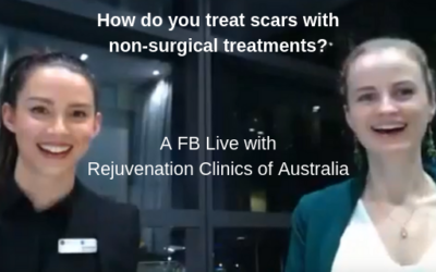 How do you treat scars with non-surgical treatments?