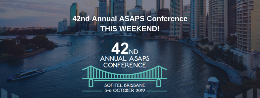 42nd Annual ASAPS Conference THIS WEEKEND!!