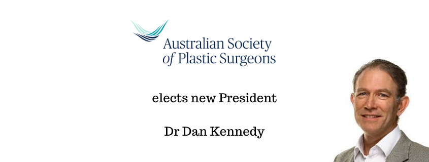 Australia's Peak Body for Specialist Plastic Surgeons Elects New President