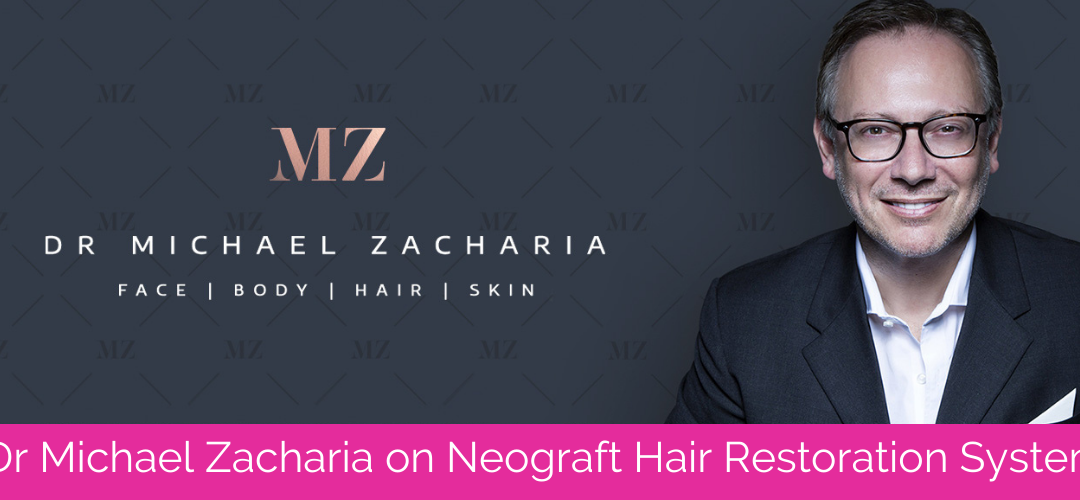 Dr Michael Zacharia Talks NeoGraft Hair Transplantation System