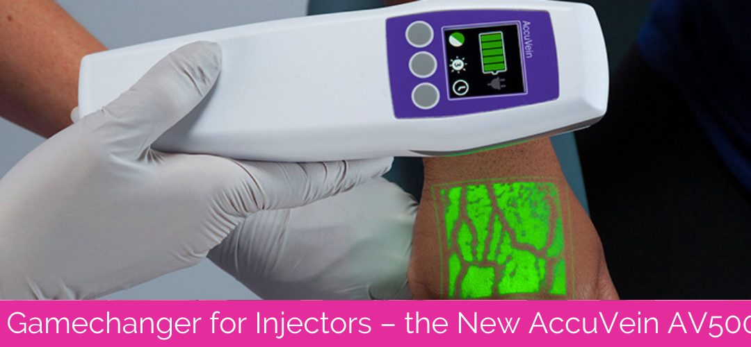 A Gamechanger for Injectors – the New AccuVein AV500
